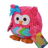 Детский рюкзак для девочки Сова. Рюкзак для детей. Рюкзачок в садик