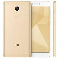 "Смартфон Xiaomi Redmi Note 4X Gold 3/16 Gb, 5.5"", Snapdragon 625, 3G, 4G"