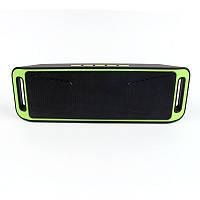 Портативная Bluetooth колонка SPS SC-208 Green