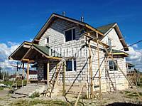 Строительство домов под ключ, газобетон, пеноблок