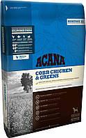 Корм для собак ACANA Cobb Chicken&Greens 11,4 кг, акана для собак всех пород и возрастов