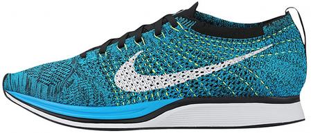 Мужские кроссовки Nike Flyknit Racer Chlorine Blue 526628 414, Найк Флайнит, фото 2