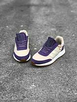 Женские кроссовки Adidas Iniki I-5923 Runner Boost Purple White BA9995 , Адидас Иники Ранер I-5923, фото 3