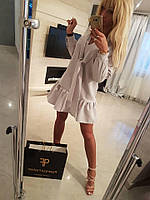Платье женское офисное Paparazzi Длинный рукав