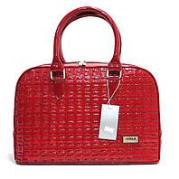 Женская сумка из искусственной кожи 530380355 Бордовый