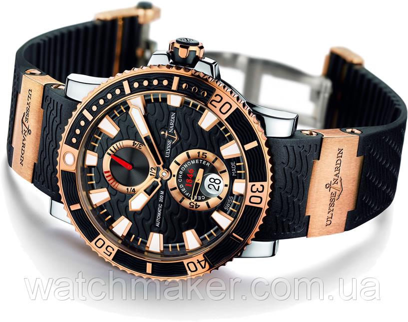 Мужские часы Ulysse Nardin Maxi Marine chronograph копия ААА - интернет-  магазин