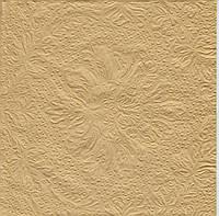 Салфетки бумажные золото