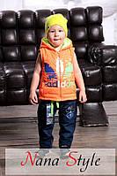 Детский модный жилет  ЕВ88-2