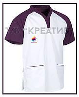 Мужские куртки медицинские под заказ (от 50 шт.) с НДС