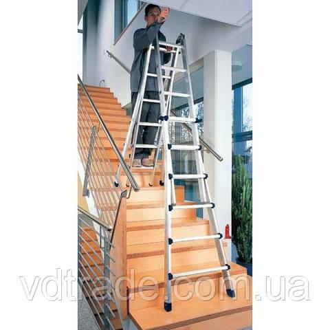 Телескопическая лестница 4х5