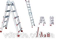 Телескопическая лестница 4х5, фото 2