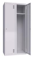Шкаф металлический одежный ШМО 800-2