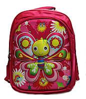 """Ортопедический школьный рюкзак для девочек 1-4 класс в 3D изображении """"Матылек"""""""