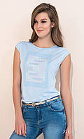 Летняя блуза Zaps Scarlet c коротким рукавом