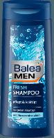 Balea MEN Shampoo fresh - Шампунь для волос с кофеином и морскими минералами 300 мл