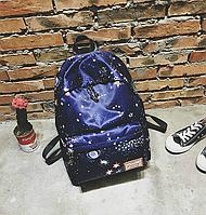 Модный городской рюкзак с принтом космос