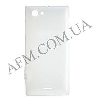 Задняя крышка Sony ST26i Xperia J белая оригинал