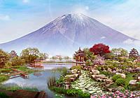 """Фотообои виниловые на флизелиновой основе Японский пейзаж """"Гора Фудзи"""""""