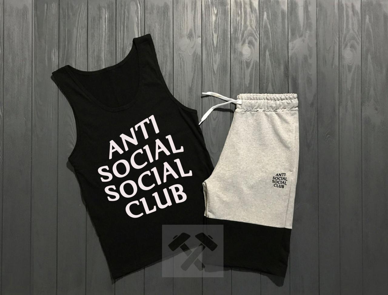 Комплект Anti Social Social Club (Анти Сошал Сошал Клаб)
