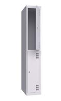 Шкаф металлический одежный ШМО 300-1-2