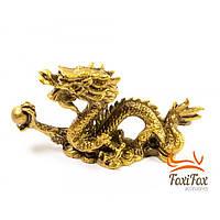 Статуэтка дракон с жемчужиной 11 см