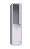 Шкаф металлический одежный ШМО 400-1-2