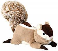 Игрушка Trixie Chipmunk для собак плюшевая, с пищалкой, 24 см