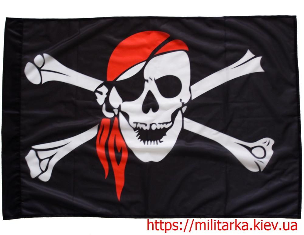 """Флаг """"Пиратский""""  (89 см х 62 см)"""