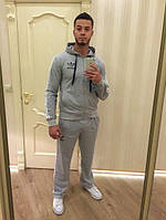 Костюм спортивный мужской Адидас серый | Мужские костюмы Адидас