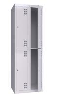 Шкаф металлический одежный ШМО 600-2-4