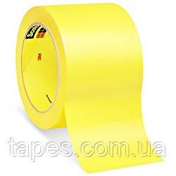 Желтая лента 3М 471 для разметки пола 50мм х 33м