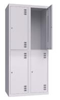 Шкаф металлический одежный ШМО 800-2-4