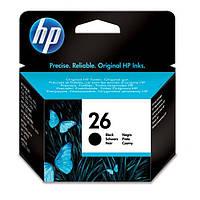 Струйный Картридж HP №26 Black (51626AE)