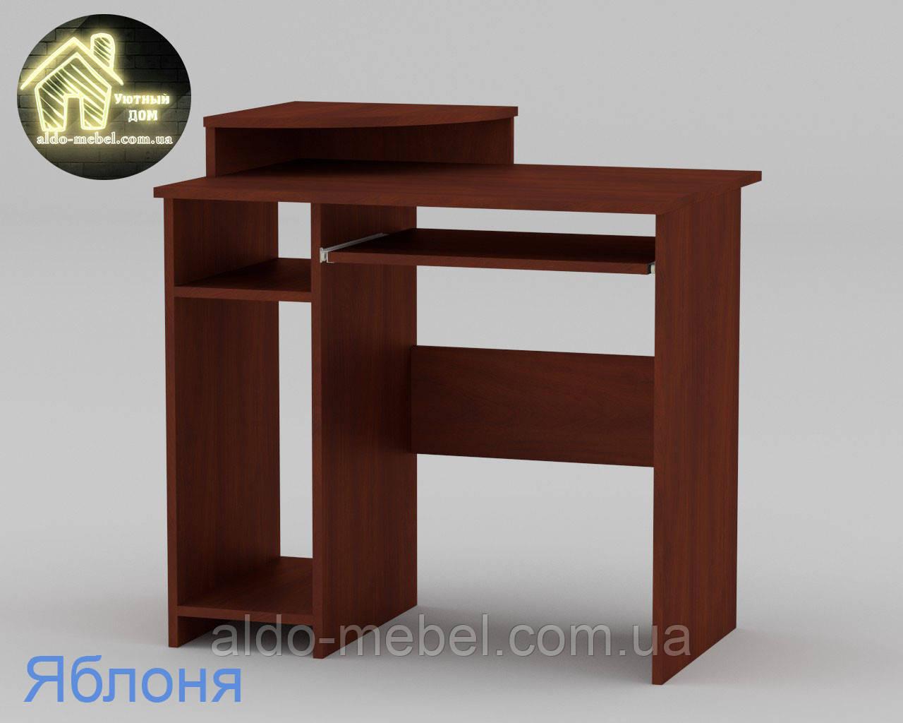 Стол компьютерный СКМ - 1 Габариты Ш - 820 мм; В - 736 + 96 мм; Г - 600 мм (Компанит)