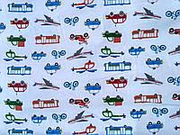 Байковая ткань для детского постельного белья.