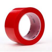 Виниловый скотч 3М 471 для разметки пола 50мм х 33м красный цвет