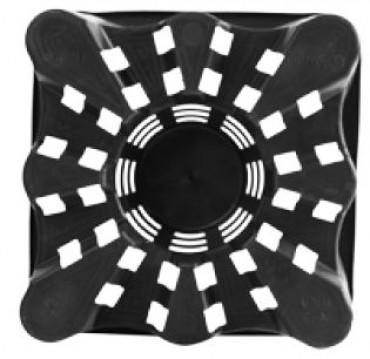 Горшок квадратный SQUARE SUPER-ERCOLE 23x23x28см 9,6л
