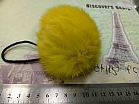 Бубон из кролика (желтый)
