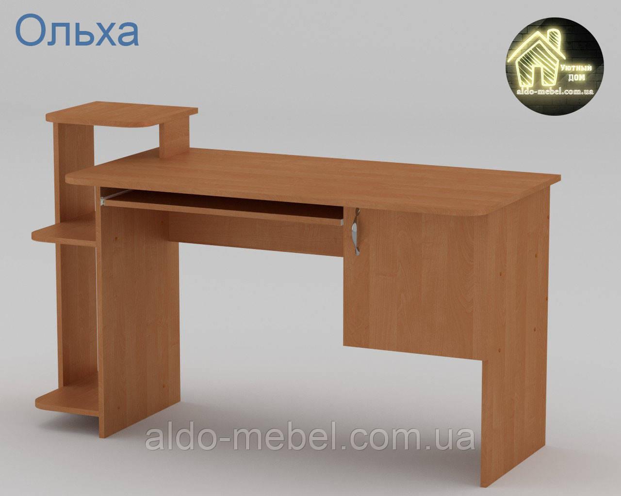 Стол компьютерный СКМ - 3 Габариты Ш - 1418 мм; В - 751 + 116 мм; Г - 600 (Компанит)
