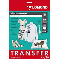 Термотрасфер Lomond для светлых тканей, А4, 10л.