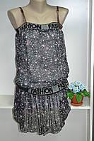Шифоновое  летнее платье, фото 1