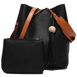 Женская сумка и кошелек AL-7334-10 Купить оптом сумки женские