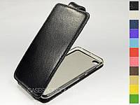 Откидной чехол из натуральной кожи для Lenovo S90