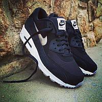 Мужские кроссовки Nike Air Max 90 Essential Black-White