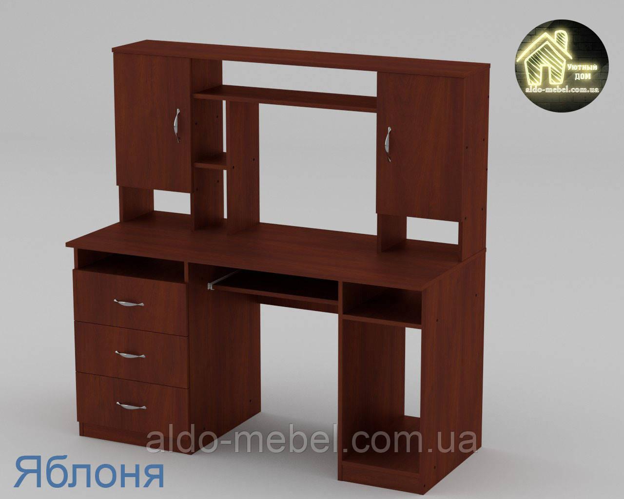 Стол компьютерный Менеджер Габариты Ш - 1400 мм; В - 756 + 666 мм; Г - 598 мм (Компанит)