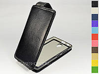 Откидной чехол из натуральной кожи для Lenovo A2010