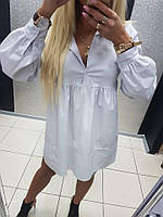 Платье-Рубашка Котон Мини Paparazzi Fashion