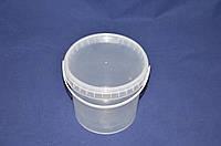 Ведро 1 л. пластиковое для пищевых продуктов, фото 1