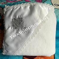 Крыжма софт атлас уголок серебро Textile plus