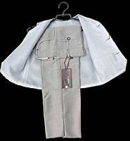 Детский брючный костюм с жилеткой